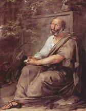 Hayez' Aristotle (1811), Galleria dell'Academia, Venice